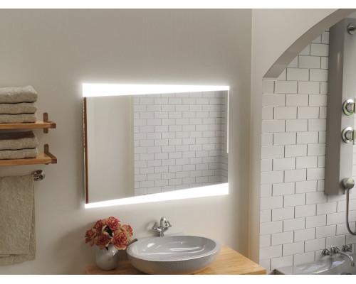 Зеркало в ванну комнату с подсветкой Вернанте