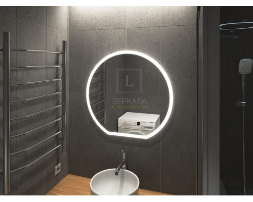 Зеркало в ванную комнату с подсветкой Виваро