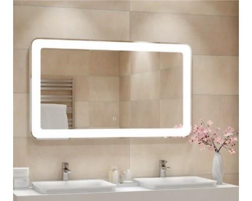 Зеркало в ванную комнату с подсветкой Мила